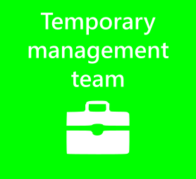 Temporary management team